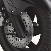 Tauris Roller Broadway 125 / 4T Detailansicht Reifen vorne