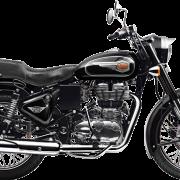 Royal Enfield Motorrad Bullet 500 in Farbe Black