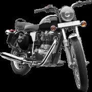 Royal Enfield Motorrad Bullet Electra in Farbe Black