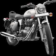 Royal Enfield Motorrad Bullet Electra in Farbe Silver