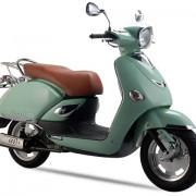 Tauris Roller Capri 125 / 4T in Farbe Mint Green
