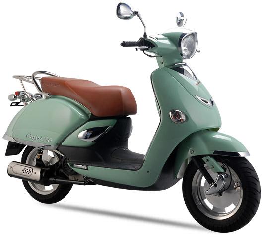Tauris Roller Capri 50 / 2T in Farbe Mint Green