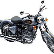 Royal Enfield Motorrad Classic 500 in Farbe Classic Silver