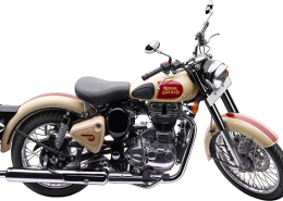 Royal Enfield Motorrad Classic 500 in Farbe Classic Tan