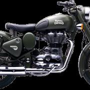 Royal Enfield Motorrad Classic Battle Green in Farbe Classic Battle Green