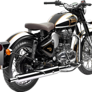 Royal Enfield Motorrad Classic Chrome in Farbe Classic Black