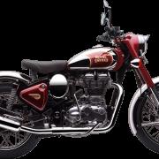 Royal Enfield Motorrad Classic Chrome in Farbe Royal Maroon