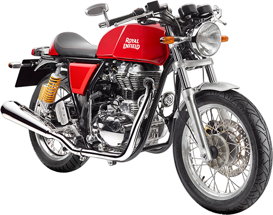 Royal Enfield Motorrad Continental GT in Farbe GT Red
