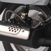 Tauris Roller Cubana 125 / 4T Detailansicht Auspuff