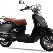 Tauris Roller Cubana 50 / 2T in Farbe Schwarz