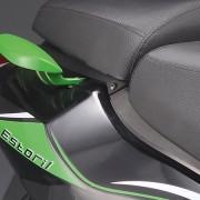 Tauris Roller Estoril 50 / 2T Detailansicht Sitzfläche