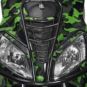Tauris Roller Fiera 50 / 2T Art Collection Detailansicht Licht vorne