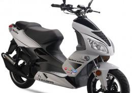 Tauris Roller Fiera 50 / 2T Xtreme in Farbe Weiß