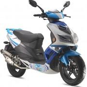 Tauris Roller Firefly 50 / 2T in Farbe Blau