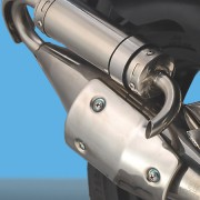 Tauris Roller Firefly 50 / 2T Detailansicht Auspuff