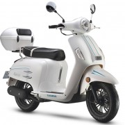 Tauris Roller Freccia 125 / 4T in Farbe Weiß