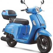 Tauris Roller Freccia 50 / 4T in Farbe Blau