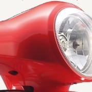 Tauris Roller Freccia 50 / 4T Detailansicht Licht vorne