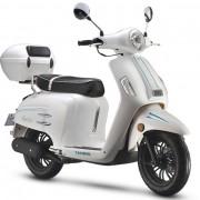 Tauris Roller Freccia 50 / 4T in Farbe Weiß
