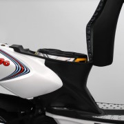 Tauris Roller Fuego 50 / 2T Detailansicht Kofferraum