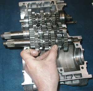 Alle Zahnräder der RD Getriebe können übernommen werden