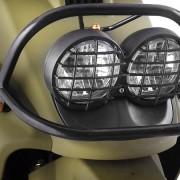 Tauris Roller Movida 50 / 2T Detailansicht Lichter vorne