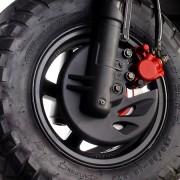 Tauris Roller Movida 50 / 2T Detailansicht Reifen vorne