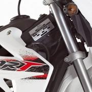 Rieju Motorrad MRT Europa III 50 Detailansicht vorne