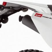 Rieju Motorrad MRT Europa III 50 Detailansicht Auspuff