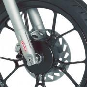 Rieju Motorrad MRT Europa III Supermoto 50 Detailansicht Reifen vorne
