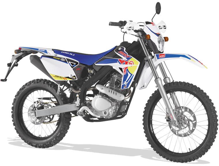 Rieju Motorrad MRT Freejump Cross 125 in Farbe Blau
