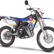 Rieju Motorrad MRT Freejump Cross 50 in Farbe Blau