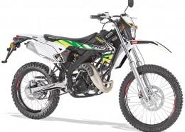 Rieju Motorrad MRT Freejump Cross 50 in Farbe Grün