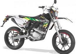 Rieju Motorrad MRT Freejump Supermoto 125 in Farbe Grün