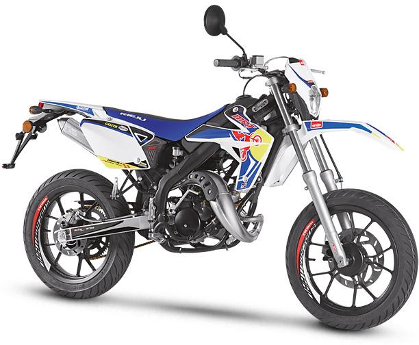 Rieju Motorrad MRT Freejump Supermoto 50 in Farbe Blau