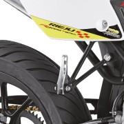Rieju Motorrad MRT Freejump Supermoto 50 Detailansicht hinten