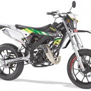 Rieju Motorrad MRT Freejump Supermoto 50 in Farbe Grün