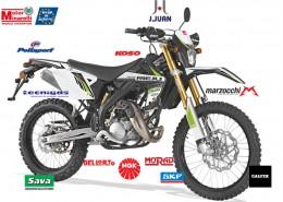Rieju Motorrad MRT Pro Cross 50 in Farbe Schwarz
