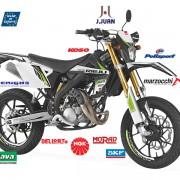 Rieju Motorrad MRT Pro Supermoto 50 in Farbe Schwarz