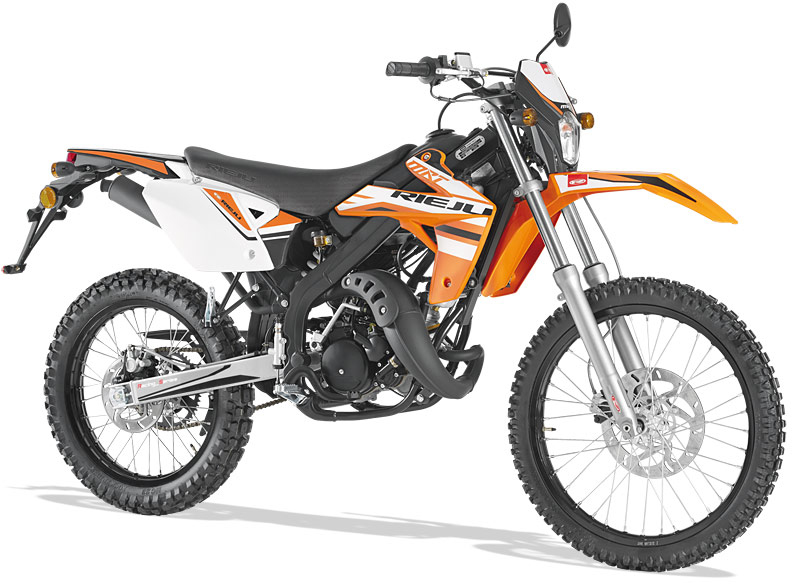 Rieju Motorrad MRT Racing 50 in Orange