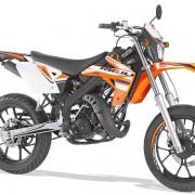 Rieju Motorrad MRT SM Racing 50 in Farbe Orange