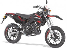 Rieju Motorrad MRT SM Racing 50 in Farbe Schwarz