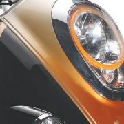 Tauris Roller Piccadilly 50 / 4T Detailansicht Lichter vorne