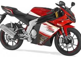 Rieju Motorrad RS3 125 in Farbe Rot