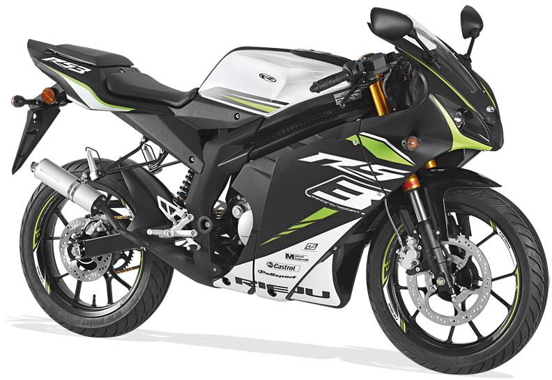 Rieju Motorrad RS3 50 in Farbe Fluor