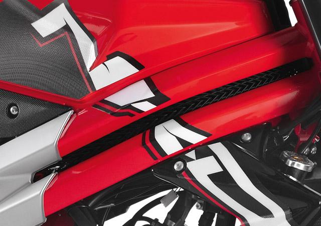 Rieju Motorrad RS3 NKD 50 Detailansicht Logo