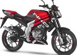 Rieju Motorrad RS3 NKD 50 in Farbe Rot
