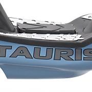 Tauris Roller Samba 50 / 2T Racing Detailansicht Fußfläche