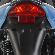 Tauris Roller Samba 50 / 2T Racing Detailansicht Lichter hinten