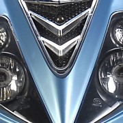 Tauris Roller Samba 50 / 2T Racing Detailansicht Lichter vorne